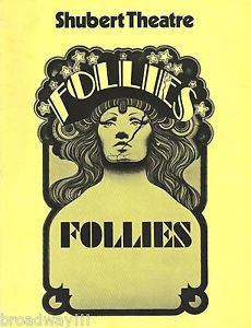 Follies Shubert Theatre