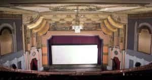 Boyd Theatre screen