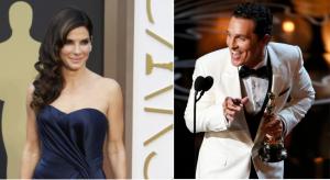 Oscar 2014 -- Sandra Bullock, Matthew McConaughey