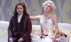 Tarra Erraught (left) and Kate Royal as Octavian and the Marschallin, in Glyndebourne's Rosenkavalier