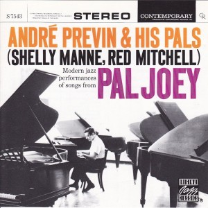 Pal Joey -- Previn & His Pals (Contemporary CD)