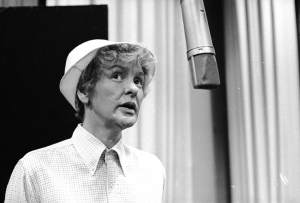 Elaine Stritch at the COMPANY recording session