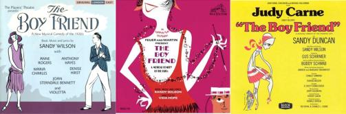 BOY FRIEND -- Three Recordings