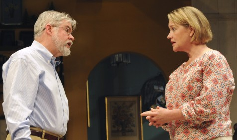 Christopher Durang and Deidre Madigan in Vanya and Sonia and Masha and Spike (Bucks County Playhouse)