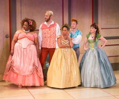 The ensemble of La Bete (Arden Theatre)