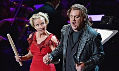 Emma Thompson and Bryn Terfel, Sweeney Todd at NYPO