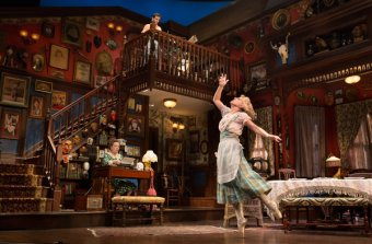 Kristine Nielsen and Annaleigh Ashford in You Can't Take It With You