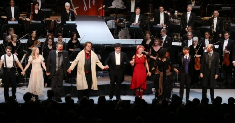 Curtain Call at NYPO'S Sweeney Todd