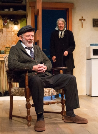 David Howey and Beth Dixon in Outside Mullingar (Philadelphia Theatre Company)