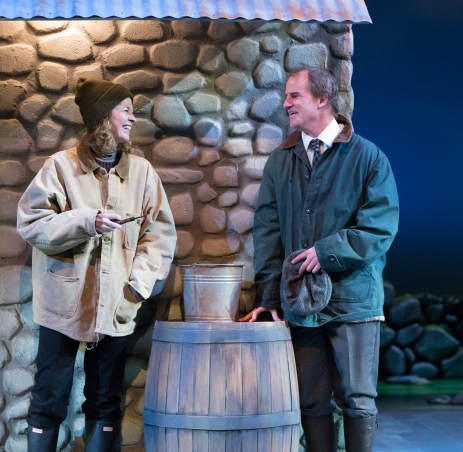 Kathleen McNenny and Anthony Lawton in Outside Mullingar (Philadelphia Theatre Company)