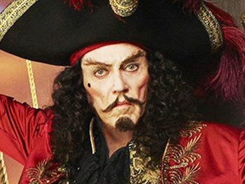 Christopher Walken as Captain Hook