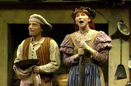 Chip Zien and Joanna Gleason in Into the Woods