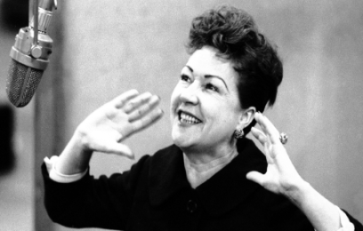 The great Ethel Merman, recording her signature role