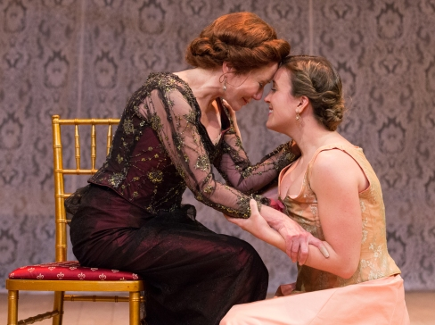 Mary McDonnell and Olivia Mell in The Cherry Orchard at People's Light (photo by Mark Garvin)