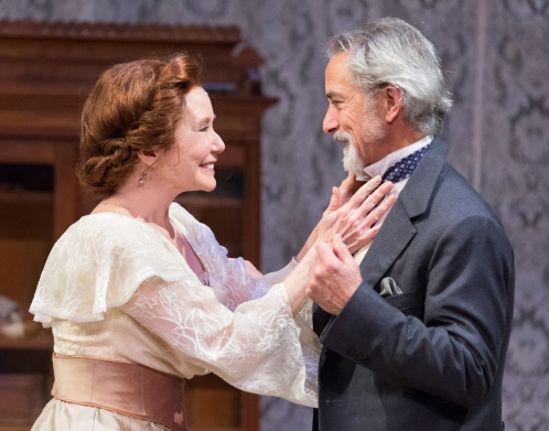 Mary McDonnell and David Strathairn in The Cherry Orchard at People's Light (photo by Mark Garvin)
