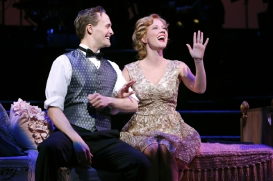 Danny Gardner and Patti Murin in Lady, Be Good! at Encores