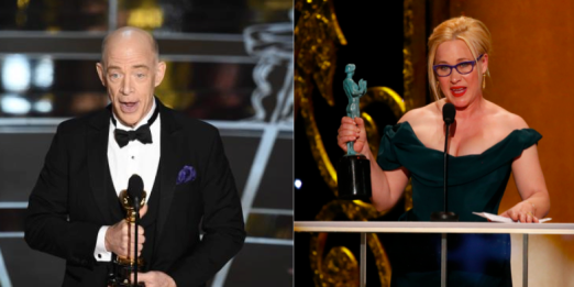 J.K Simmons and Patricia Arquette -- Bravi!