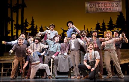 The Paint Your Wagon ensemble at Encores