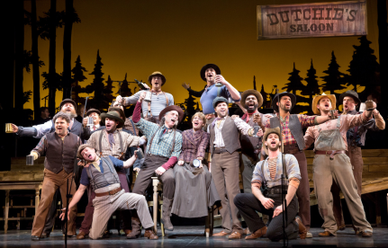 The Paint Your Wagon ensemble at Encores