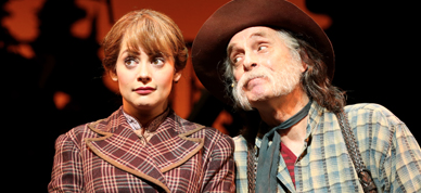 Jenni Barber and Keith Carradine in Paint Your Wagon at Encores