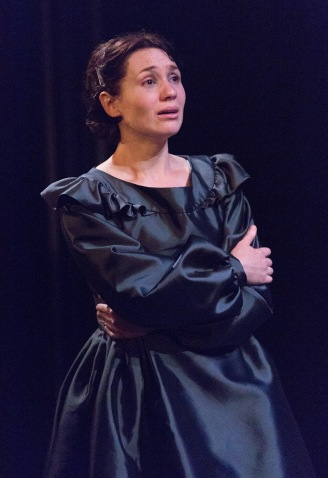 A revelation -- Liz Filios as Fosca in Passion at the Arden Theatre