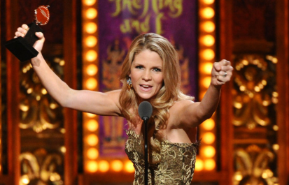 Luminous -- Tony winner Kelli O'Hara.