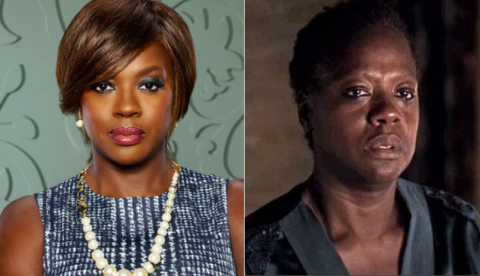 Annalise & Anna Mae -- Viola Davis as the two sides of Ms. Keating