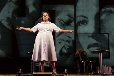 Showstopping: Angela Brown as Addie in Charlie Parker's Yardbird at Opera Philadelphia (Photo by Dominic Mercier)