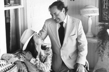 Elizabeth Ashley and Tennessee Williams