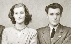 Olwyn and Ted Hughes
