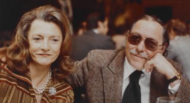 Maria Britneva and Tennessee Williams
