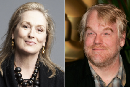 Meryl Streep, Philip Seymour Hoffman -- like mother, like... son??