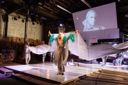John Jarboe's multi-media, visually stunning production of Andy: A Popera
