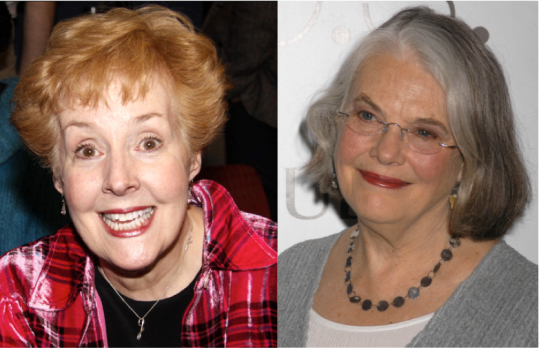 Georgia Engel and Lois Smith -- two great actresses at the peak of their powers