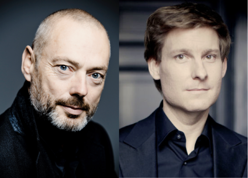 Mark Padmore, tenor (left) and Kristian Bezuidenhout, piano (right)
