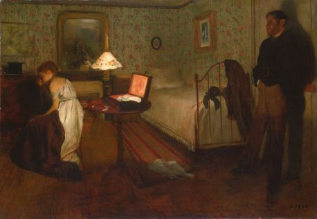 Edgar Degas' painting of Thérèse Raquin
