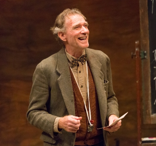 Peter DeLaurier in Underneath the Lintel at Lantern Theater. (Photo by Mark Garvin)