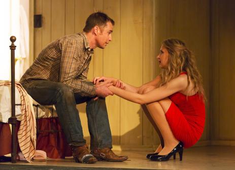 Sam Rockwell and Nina Arianda in Fool for Love (Manhattan Theatre Club)