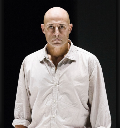 Mark Strong in A View from the Bridge. (Photo by Jan Versweyveld)
