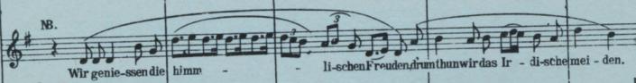 Mahler IV Opening Phrase (score)