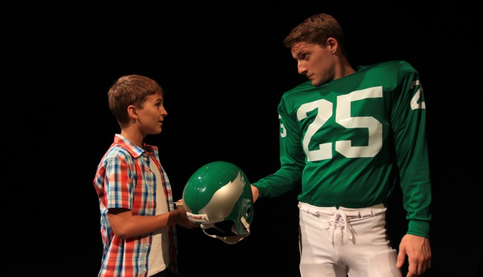 86e97d76f THEATER REVIEW  Football