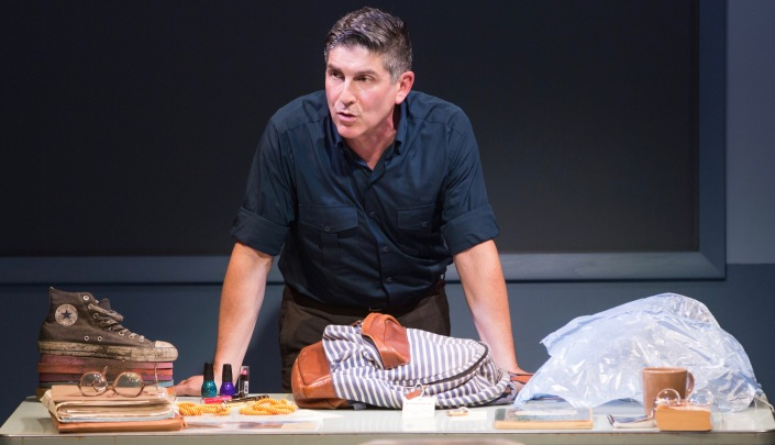 1 Signature Photo - James Lecesne as Chuck in The Absolute Brightness of Leonard Pelkey - Photo by Matthew Murphy 2
