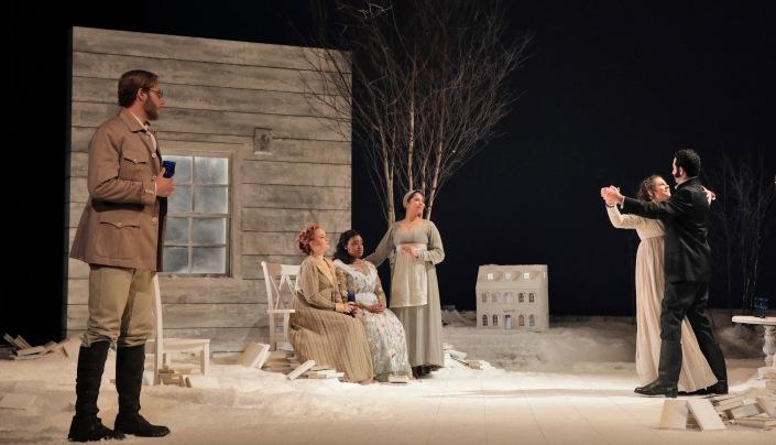 Curtis Opera 3 - Eugene Onegin - photo Cory Weaver