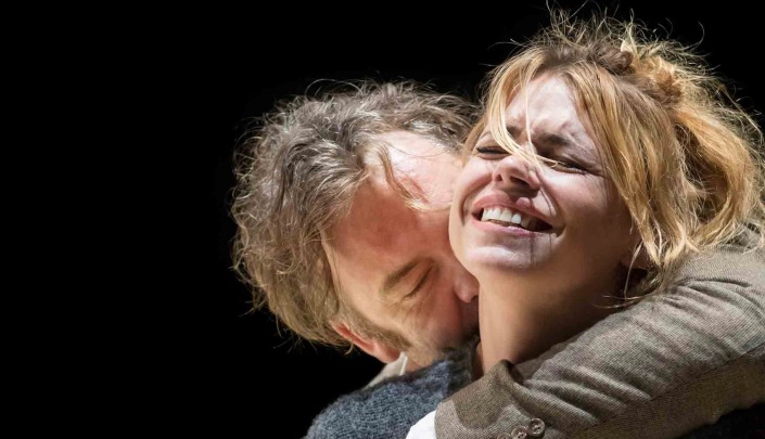 Brendan Cowell (John) and Billie Piper (Her) in Yerma at the Young Vic. Photo by Johan Persson 2